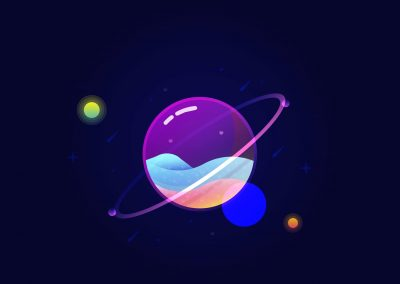 Création Site Internet, Glass planet-min